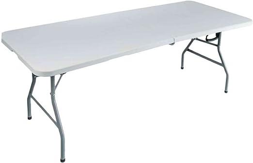 Provence Outillage Table Pliante Blanc Cassé 43421 Provence Outillage 180 X 75 X 74 Cm