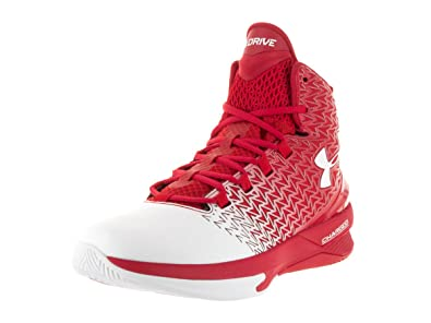 reputable site 24b94 e1d6a Under Armour UA ClutchFit Drive 3 (7.5, Red White)