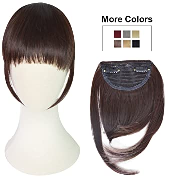 Amazon reecho fashion one piece clip in hair bangs fringe reecho fashion one piece clip in hair bangs fringe hair extensions color dark pmusecretfo Image collections