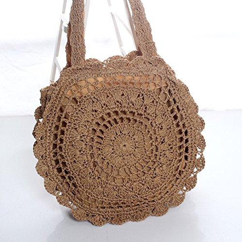 Bag Travel Envelope Bohemia Use Style Women for Crossbody Holiday Straw Beige Women Leisial Weave Everyday Clutch Purse Bag Straw Summer Beach Handbag Beach TA5gqw7