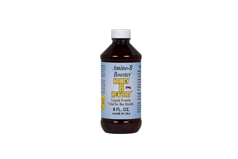 Amino-B Booster 8 oz. Botella de proteína líquida vital para la salud de las abejas