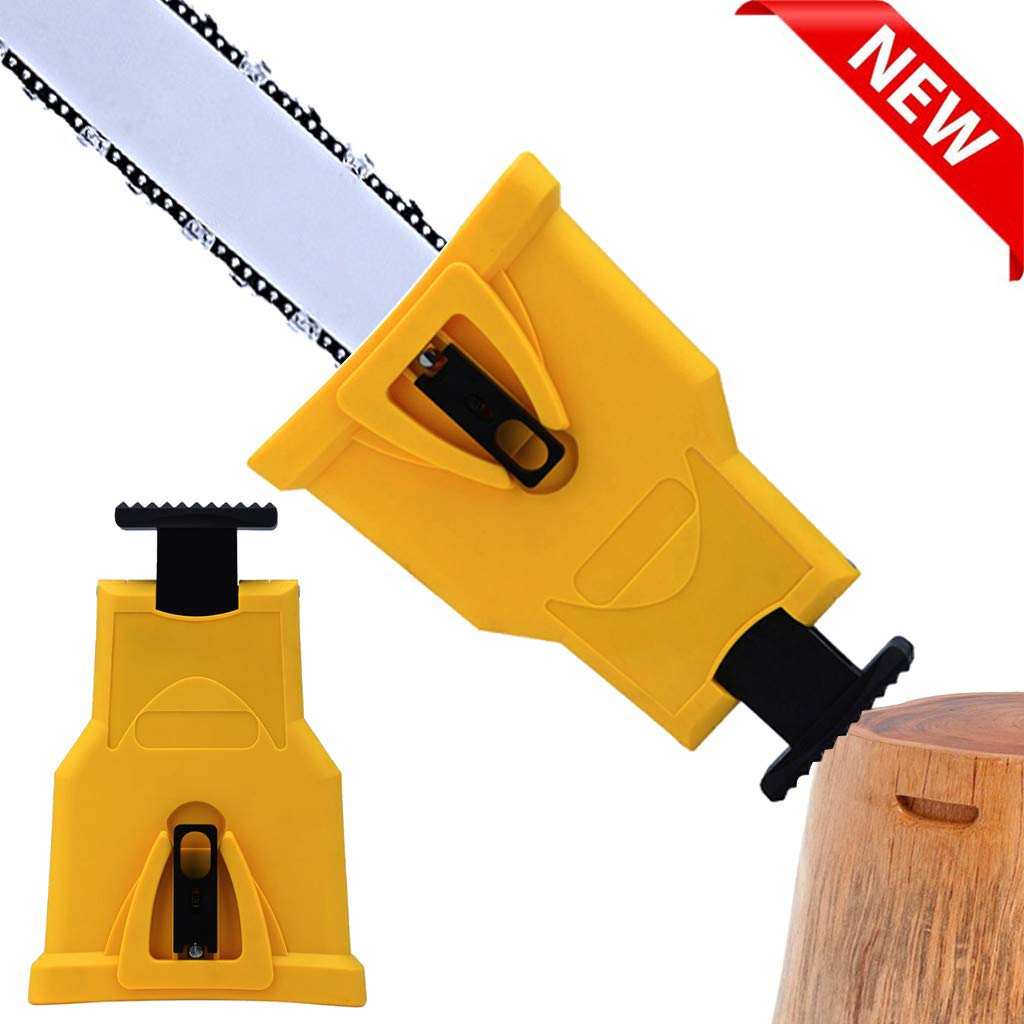Apatner Chainsaw Sharpener Chainsaw Teeth Sharpener Woodworking Tools Fast Sharpen Their Chain On The Job for 14/16/18/20-inch Chainsaw and Petrol Saw