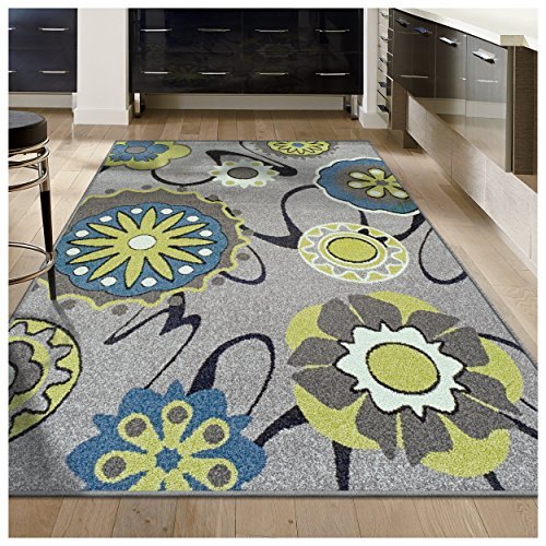 Large Product Image of Superior Lana Collection, 6mm Pile Height with Jute Backing, Quality and Affordable Area Rugs, 4' x 6' Grey