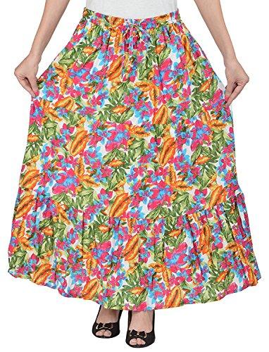 Indian Handicrfats Export Cotton Breeze Women's Cotton Skirt