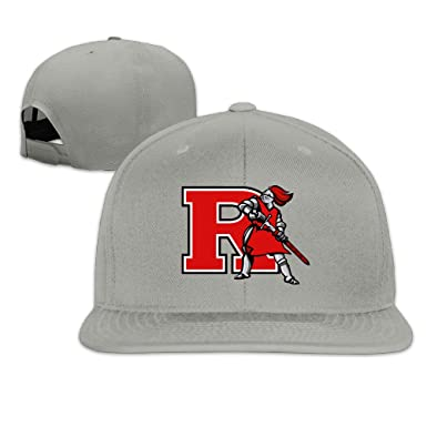 Male Female Rutgers Cotton Flat Snapback Baseball Caps Adjustable Mesh Hat  Mesh Hat Ash One 3173378c139