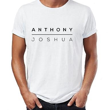 186b2a1e AJ Anthony Joshua Boxing Stay Hungry Training Gym Wear Unisex Ideal Gift T- Shirt (White, XX-Large): Amazon.co.uk: Clothing