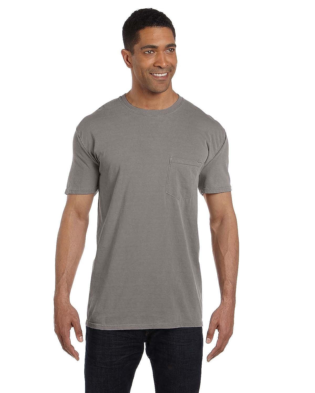 Comfort Colors 6.1 oz. Garment-Dyed Pocket T-Shirt, GREY