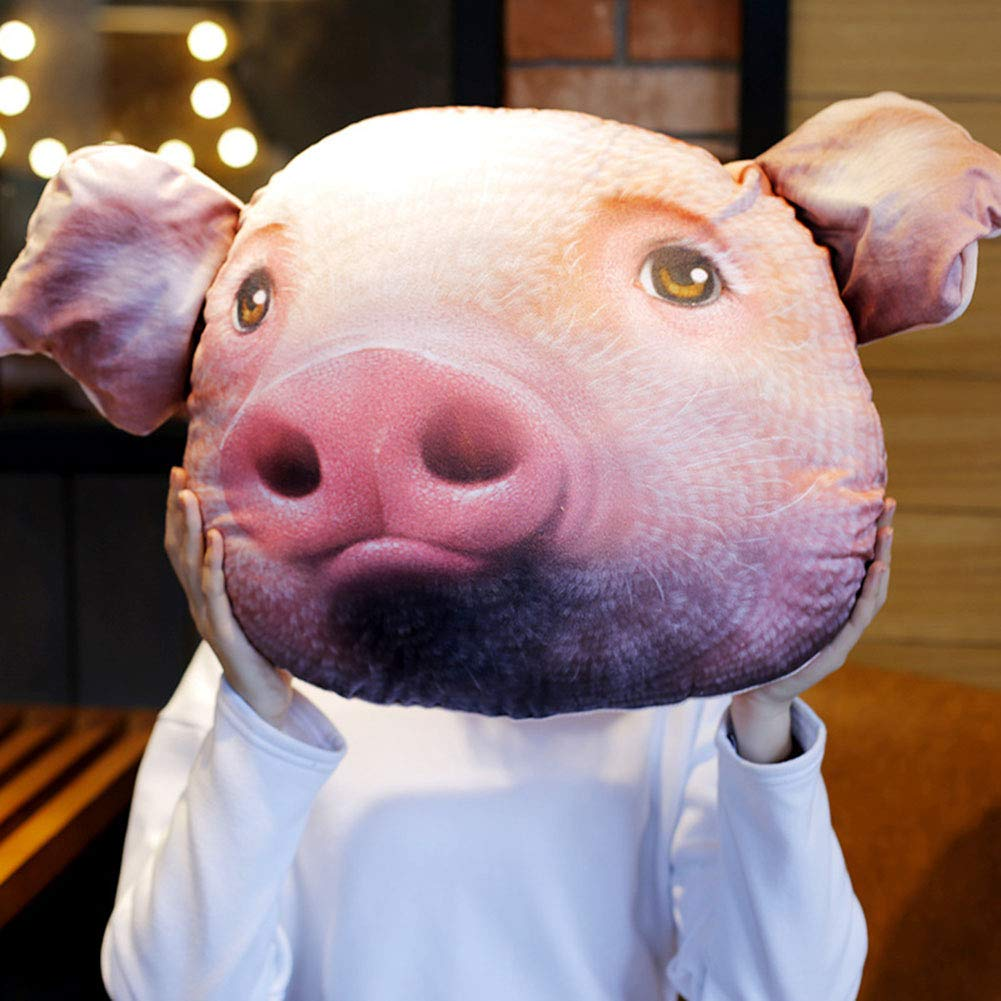 Blink 38x30cm Thole 3D Simulation Peluche Animalier Jouet Oreiller Cochon Personnalisé Doux Peluche Doux Oreiller Peluche bébé Enfants en Peluche Peluche Animal