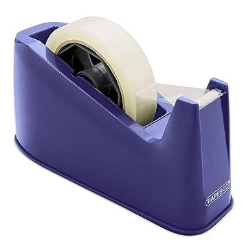 Rapesco Accesorios - Dispensador de cinta adhesiva para rollos de tamaño grande, azul: Amazon.es: Oficina y papelería