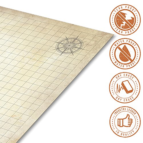 Battle Grid Game Mat 24 Quot X 36 Quot Table Top Role Playing