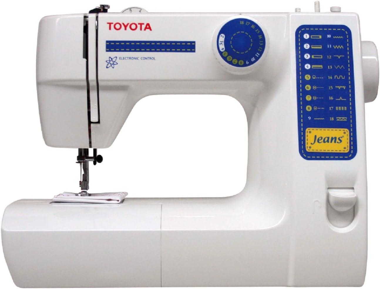 Toyota JFS18 Eléctrico - Máquina de Coser (Blanco, Costura, Paso 4 ...