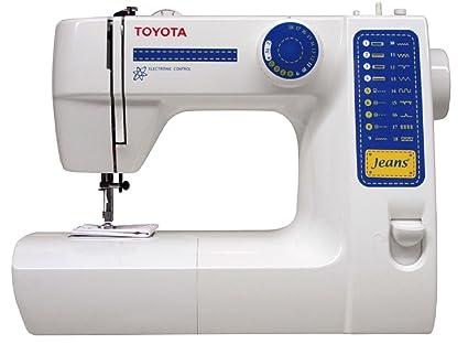 Toyota JFS18 Eléctrico - Máquina de coser (Blanco, Costura, Paso 4, Giratorio