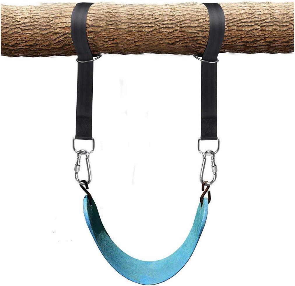 AIVOOF amaca assi Set di 2 cinghie per altalena ideali per alberi altalena