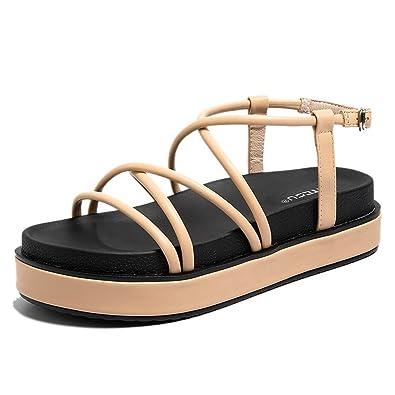 MeiMei Sandales pour Fille 1 Color - - 1 Color, 37 EU