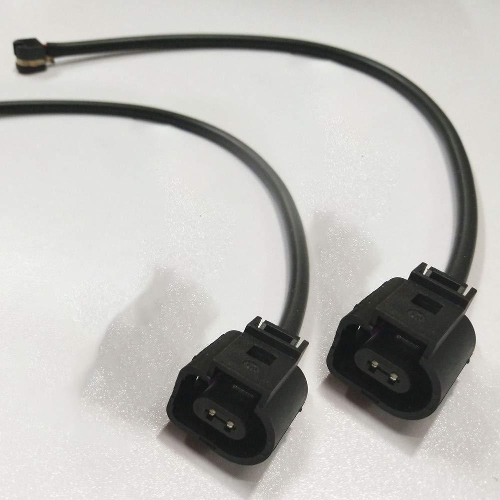 YUSHHO56T Brake Sensor Wire Brake System Cable 2Pcs Car Vehicle Front Brake Pad Wear Sensor Wire Cable 7L0907637 for Audi Q7
