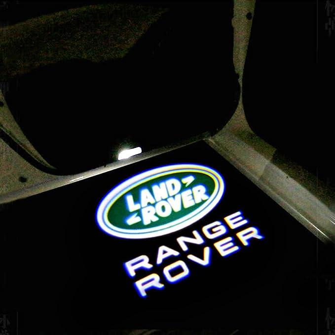 Landrover Autotür Logo 3d Laser Led Shadow Light Sportwagen Tür Projektor Projektor Lampenlogo F88 156 Auto