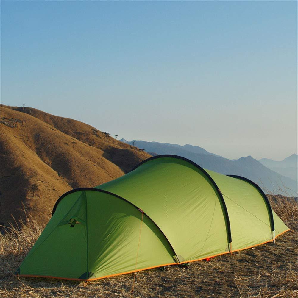 テント、大型スペース風の抵抗のキャンプのテント2人の四季のトンネル防水防水ハイキング観光テント 410*160*120cm 1 B07KZWJ4JX
