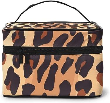 Leopard Texture (16) Estuche de Maquillaje y Neceser - Neceser de Maquillaje para Mujer: Amazon.es: Equipaje