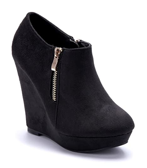 Stiefel Schuhe mit Keilabsätze für Damen vergleichen und