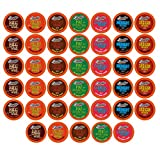 Brooklyn Beans Hot Chocolate Variety Pack Pods, Compatible with 2.0 K-Cup Brewers, 40 Count
