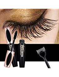 4D Fiber Lash Mascara by KASI - Waterproof Long Lasting...