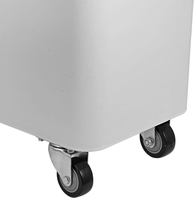 Olibelle R/écipient de Riz Bo/îte en Plastique de Stockage avec Couvercle Id/éal pour Le Stockage Mobile dans la Cuisine 75x34x73cm