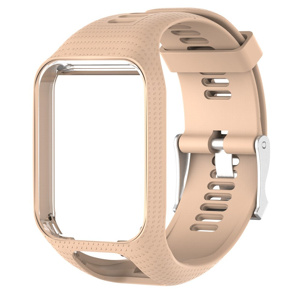 Colinsa - Correa de reloj de pulsera de silicona, correa de recambio para TomTom Runner Series 2/3, 11 colores