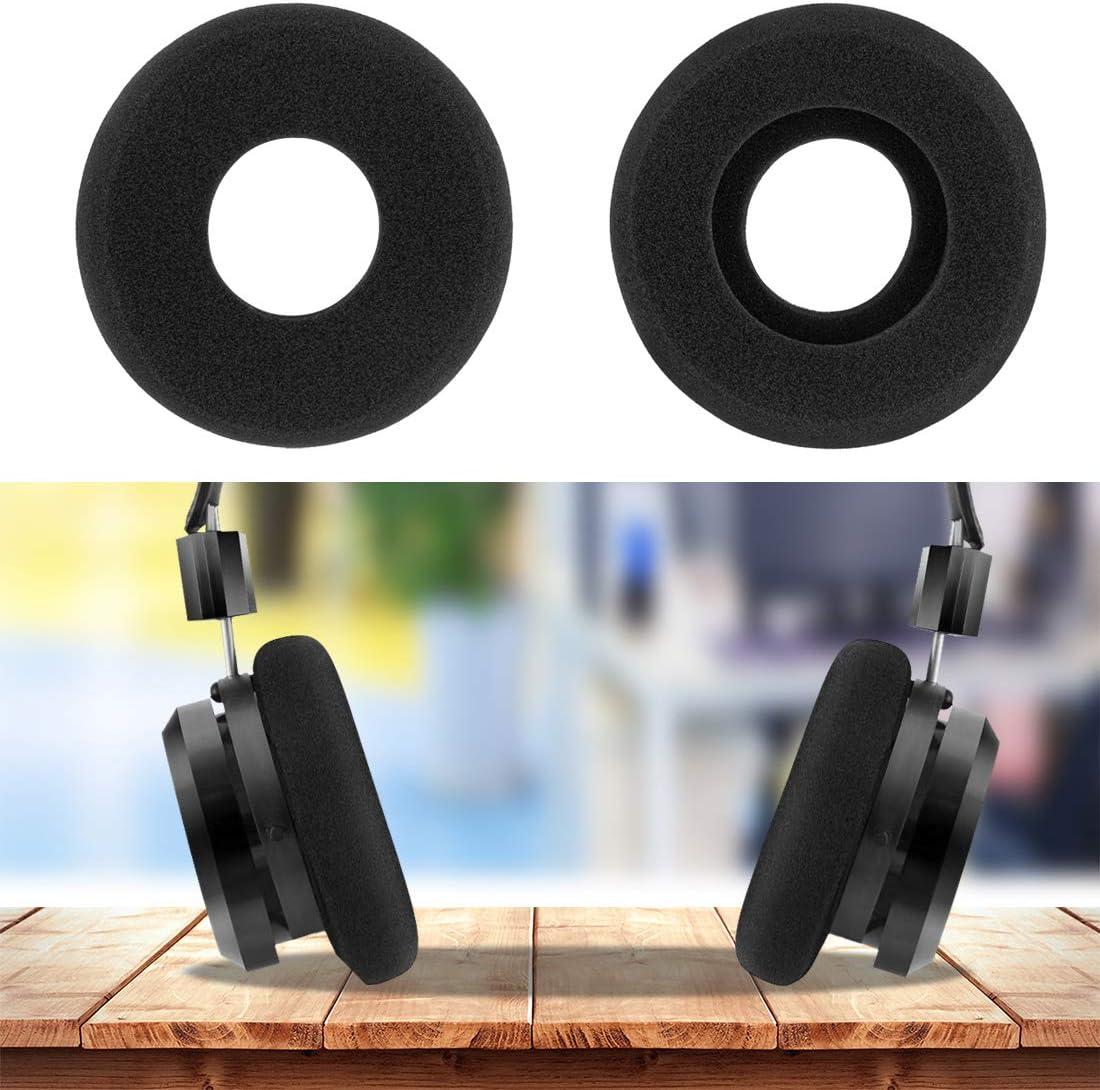 1 Pair Sponge Ear Pads Cushion Cover Black for GRADO SR60 SR80 Headphone #1
