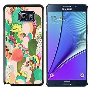 Stuss Case / Funda Carcasa protectora - Arte Desierto Pintura Acuarela - Samsung Galaxy Note 5