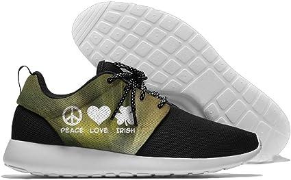 PEACE LOVE IRISH Men's Running Shoes