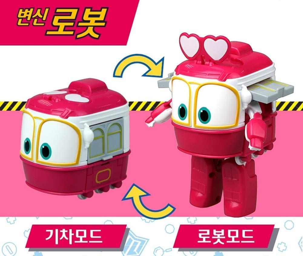 Robot Train Season 2 Korean Animation Transforming Robot 5 Genie Silverlit