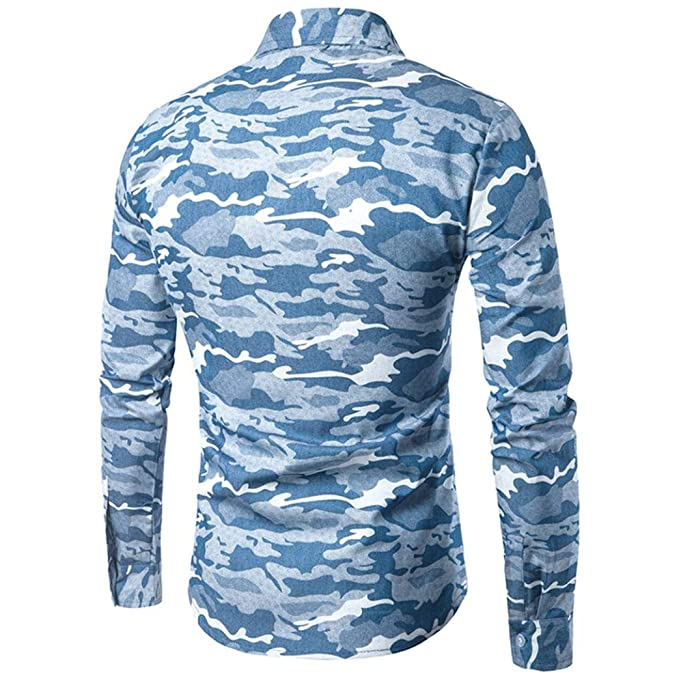 Camisas Casual Hombre Manga Larga, Covermason Camisa ...