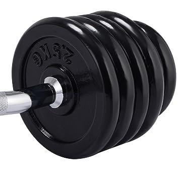 30 kg Set mancuernas largas formación de placas peso la fuerza ...