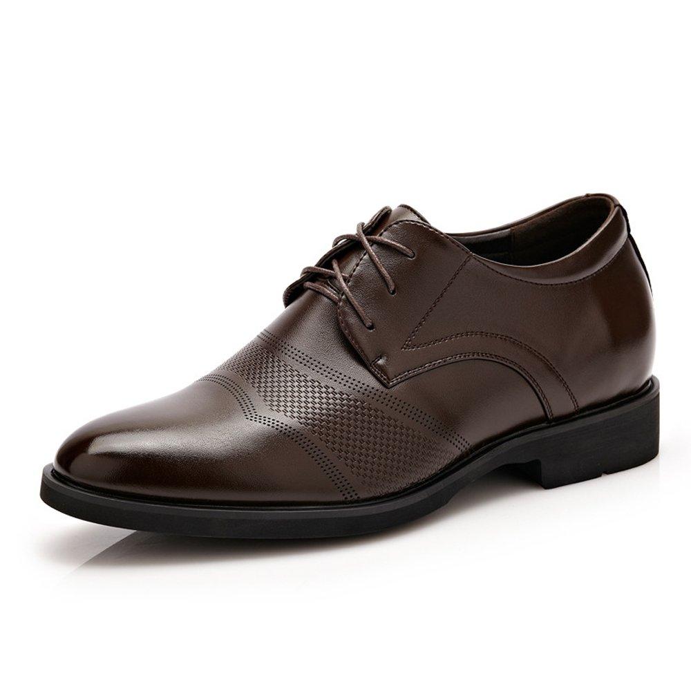 XXY 6CM Taller Classic Herren PU Leder Höhe Zunehmende Aufzug Schuhe Business Lace Up Oxfords Driving Schuhe  | Offizielle