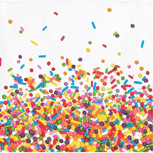 Confetti Sprinkles Beverage Napkins, 48 ct