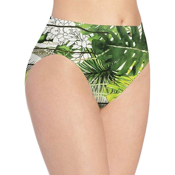 Girls in green panties