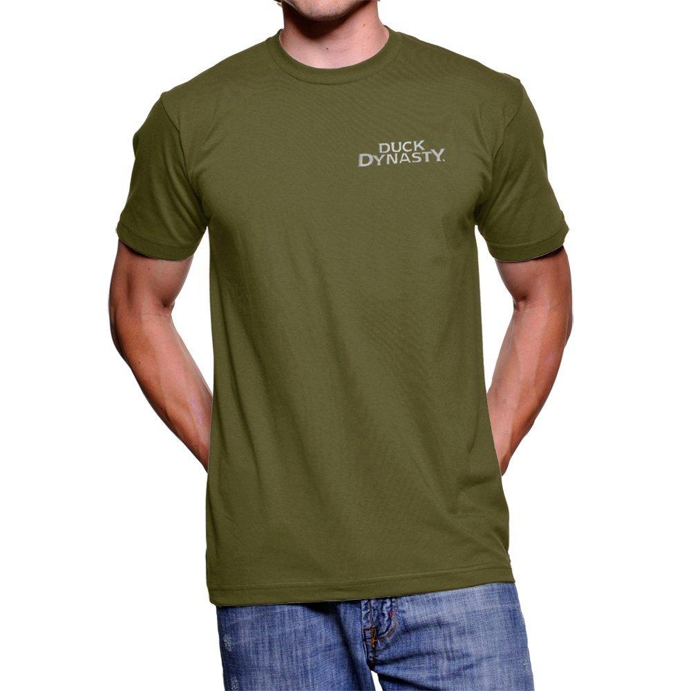 Duck Dynasty Hey what ever portatiòli hadband Military Verde T-Shirt