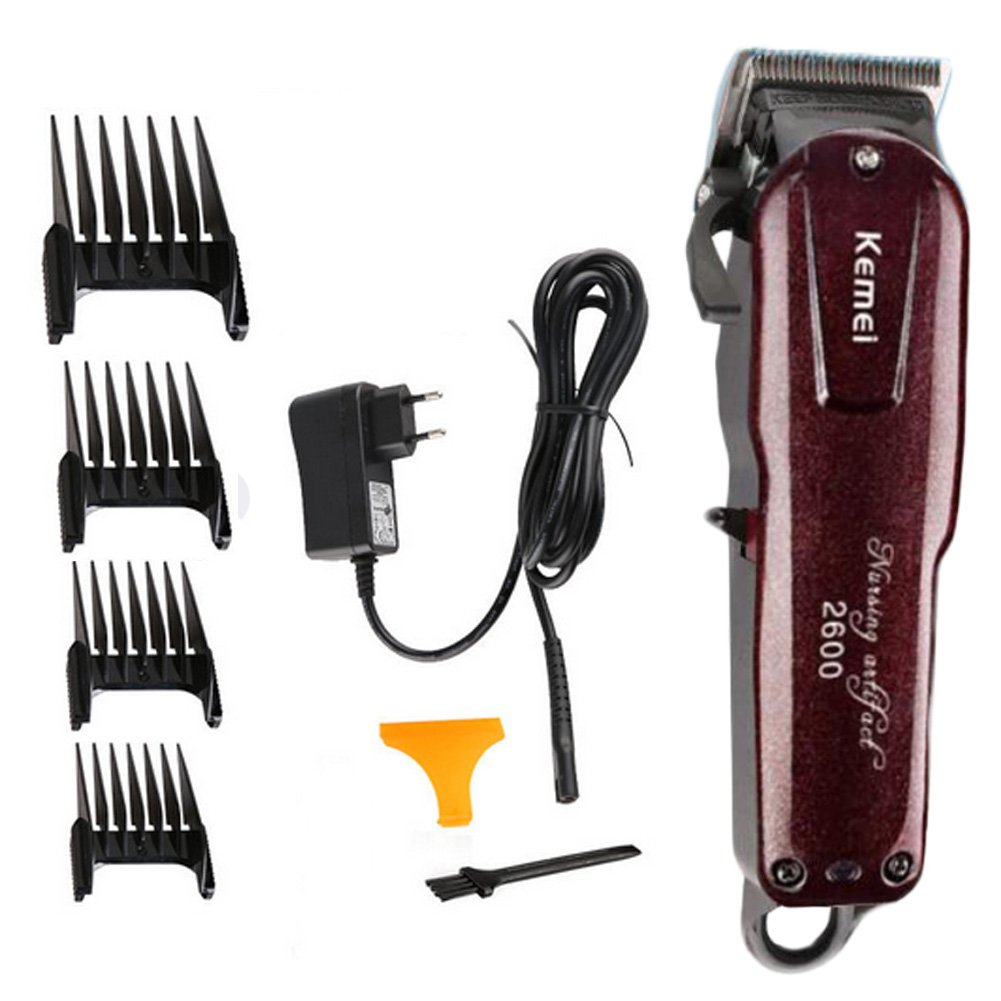 LFM Cordless Professional Hair Clippers for Men with Stainless Steel Blades