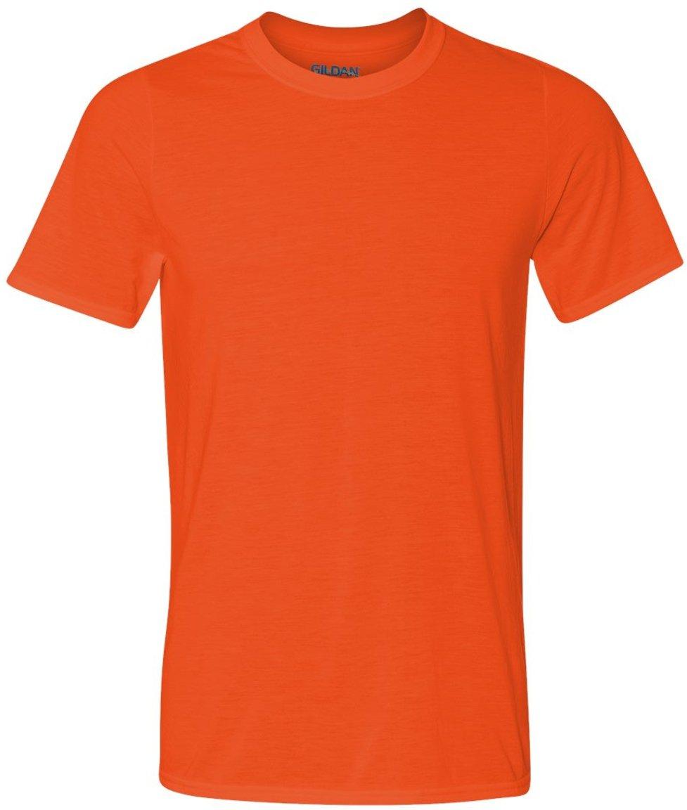 Gildan メンズTシャツ コアパフォーマンス B00I2ZAH3A X-Large|オレンジ オレンジ XLarge
