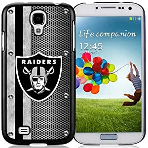 Great Quality Samsung Galaxy S4 I9500 Case ,Beautiful And Unique Designed Case With Oakland Raiders 04 Black Samsung Galaxy S4 Cover Phone Case