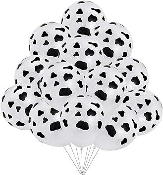 """10X 12/"""" Noir Joyeux Anniversaire Imprimé Latex Ballons Fête Décoration baloons UK"""