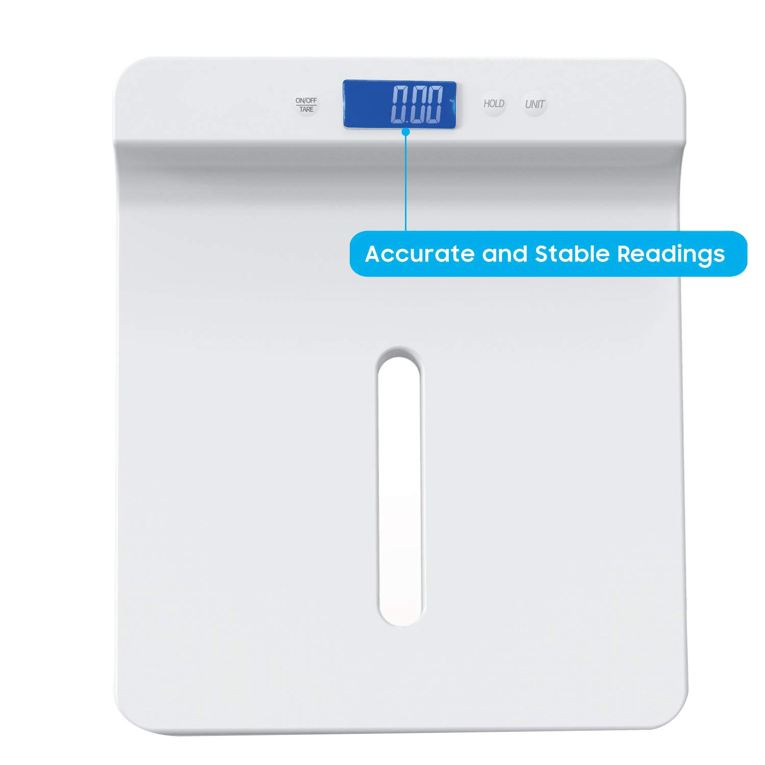CUHAWUDBA Baby Scale,Digital Pet Scale,Toddler Scale,Infant Scale to Measure Babies//Pets Accurately and Holding Function,Blue Backlight,Height Tray