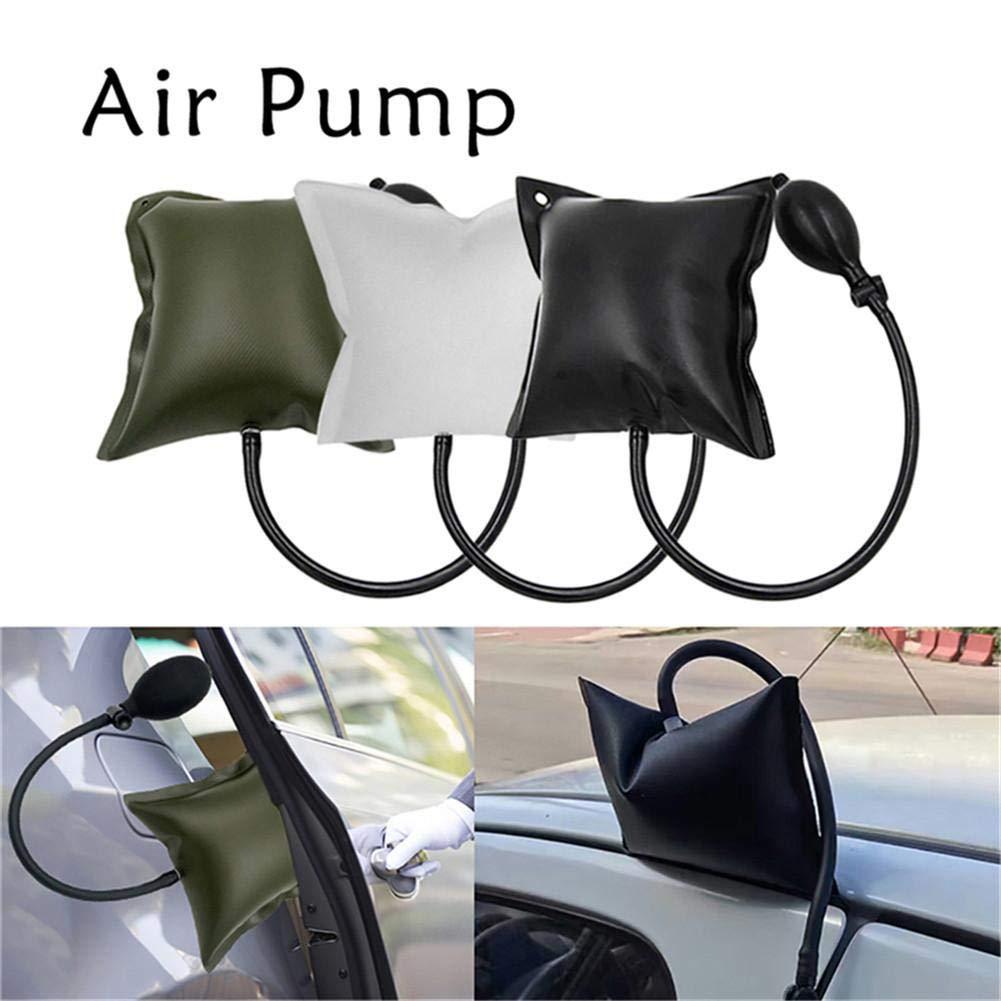 Zaote Regolabile Quadrato Spessore Silicone airbag Aria Gonfiabile Cuneo Imbottito e Strumenti per Installazione per Porte e finestre