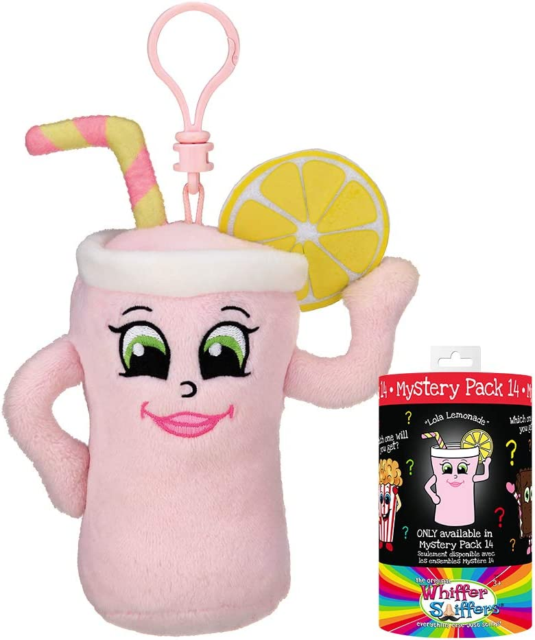 Whiffer Sniffers Mystery Pack 14 Scented Plush Backpack Clip