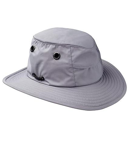 Tilley Endurables TTCH1 Tec-Cool Broad Brim Grey Unisex Hat 1e16f51caf0f