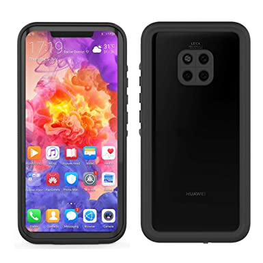 lowest price 26ab4 d811a CaseFirst Huawei Mate 20 Pro Waterproof Case, IP68 Certified Full Sealed  Dustproof Shockproof 360 Degree Protection Underwater Case with Screen ...