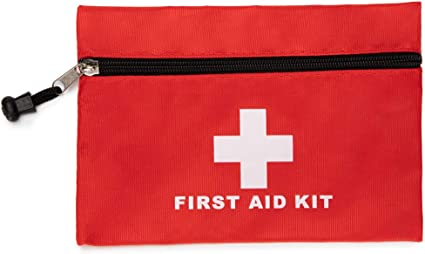 Portable Outdoor First Aid Kit Red Camping Emergency Survival Waterproof Bag.
