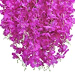 UArtlines-24-Pack-36-FeetPiece-Artificial-Fake-Wisteria-Vine-Ratta-Hanging-Garland-Silk-Flowers-String-Home-Party-Wedding-Decor-Extra-Long-and-Thick-24-Purple-Red