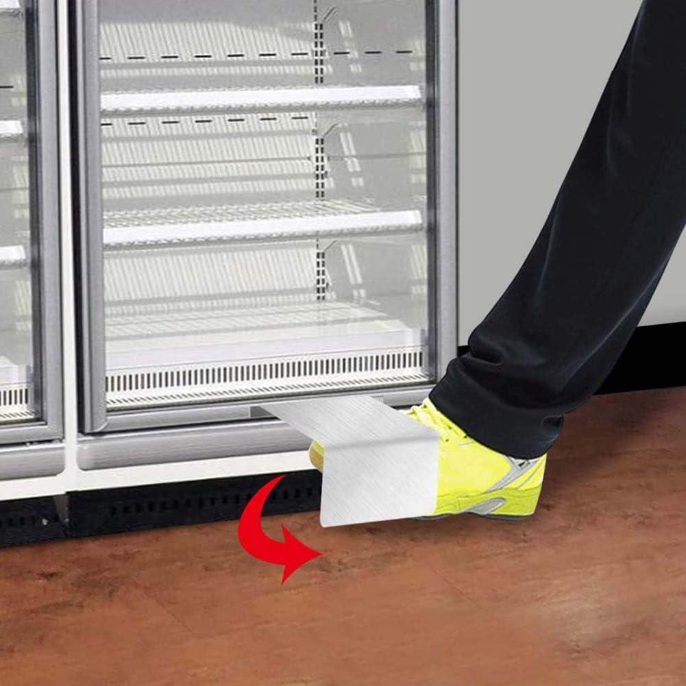 PowerBH Tienda sin contacto Congelador Abrepuertas de pie Abre manos libres con puerta corredera para abrir puertas de oficinas y baños: Amazon.es: Hogar
