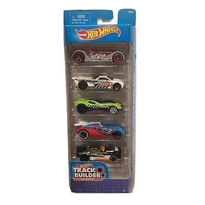 Hot Wheels 2020 Track Builder System 5-Pack (Version 1): Toys & Games